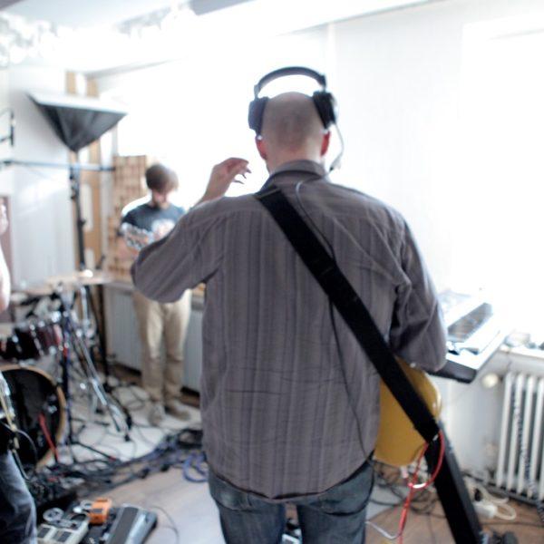 CMDR RIKR bei der Aufnahme im Cubetribe Tonstudio in Oldenburg