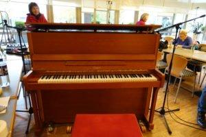 Klavie bei der Aufnahme des Chors Chorpidus im Pius Hospital Oldenburg