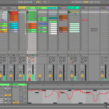 Ableton Libe 9 Session View